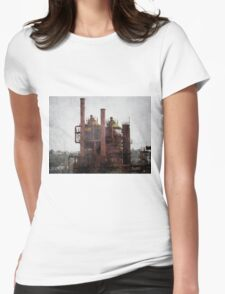 My castle that is Gas Works Park Womens Fitted T-Shirt