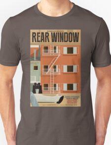 Rear Window alternative movie poster T-Shirt
