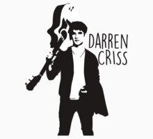 Darren Criss and his guitar! Kids Clothes