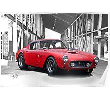 1961 Ferrari 250 GT SWB Poster