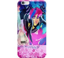 She could kill rock 'n' roll iPhone Case/Skin