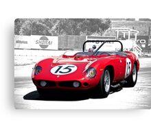 1961 Ferrari 250 TR61 Rosso Corsa Canvas Print