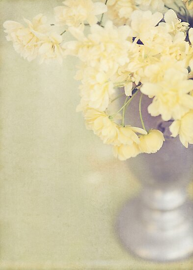 Vintage Yellow Roses by shanarae