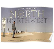 North by Northwest alternative movie poster Poster