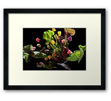 Jelly Baby Junglism Framed Print