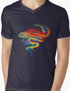 Grunge Rainbow 3 Mens V-Neck T-Shirt