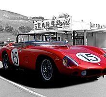1961 Ferrari 250 TR61 Rosso Corsa by DaveKoontz