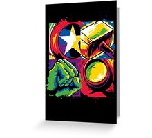 Pop Avengers Greeting Card