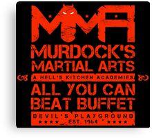 MMA - Murdock's Martial Arts (V05 - The LONG story) Canvas Print