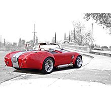 1965 Shelby Cobra 'Crossing Over' Photographic Print