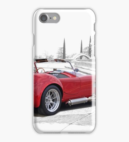 1965 Shelby Cobra 'Crossing Over' iPhone Case/Skin