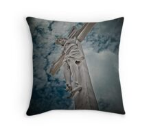 to the heaven's Throw Pillow
