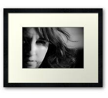 She Who Commands the Wind Framed Print