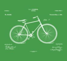 Patent: O Connor, Bicycle - White Ink Kids Clothes