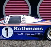 1986 Porsche 962 Sticker