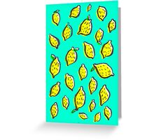 Limones de primavera Greeting Card
