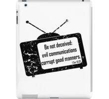 1CORINTHIANS 15:33  Bad Company  iPad Case/Skin