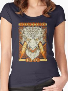 Hunting Club: Barioth Women's Fitted Scoop T-Shirt