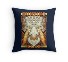 Hunting Club: Barioth Throw Pillow