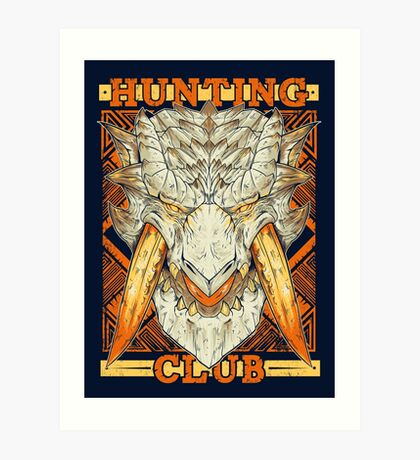 Hunting Club: Barioth Art Print