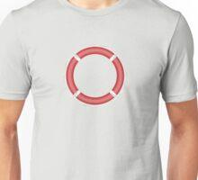 Red Life Buoy  Unisex T-Shirt