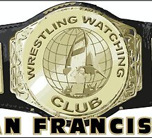 San Francisco WWC Championship Belt Logo by SanFranciscoWWC