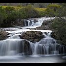 Cradle Mountain waterfall by Stephen Colquitt