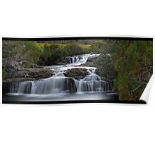 Cradle Mountain waterfall Poster