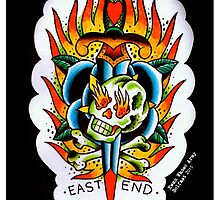 East End - Tattoo flash by ewanwhosearmy