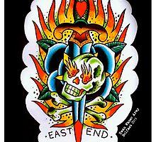 East End - Tattoo flash by ewanwhosearmy