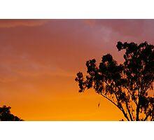Sunset Calder Highway Photographic Print