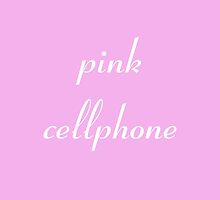 Pink Cellphone by PonchTheOwl