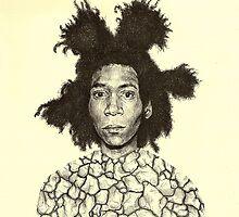 Jean Michel Basquiat  by brettisagirl