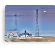 Flamborough Fog Station and Keepers Cottage. Canvas Print