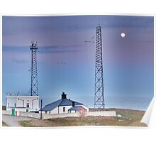 Flamborough Fog Station and Keepers Cottage. Poster