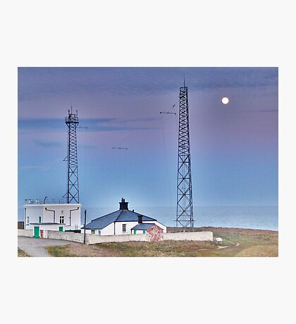 Flamborough Fog Station and Keepers Cottage. Photographic Print