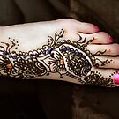 Henna for your toes by bajidoo