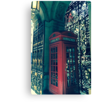 London Is calling Canvas Print