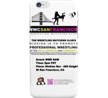 San Francisco Awesome Flyer Design! iPhone Case/Skin