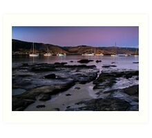 Twilight Apollo Bay Art Print