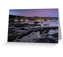 Twilight Apollo Bay Greeting Card