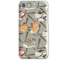 Sneaker shoes, bats and balls iPhone Case/Skin