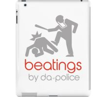 POLICE BEATINGS by Tai's Tees iPad Case/Skin