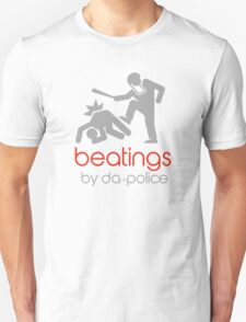 POLICE BEATINGS by Tai's Tees Unisex T-Shirt