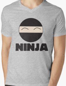 Ninja Mens V-Neck T-Shirt