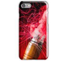 Red Vapor Flare iPhone Case/Skin