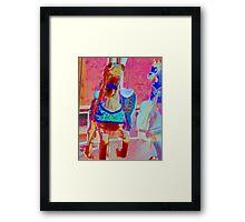 Painted Ponies Framed Print
