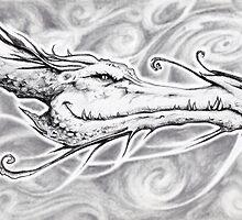 Dragon sketch by Nick Ford