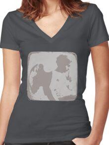 Messenger Women's Fitted V-Neck T-Shirt