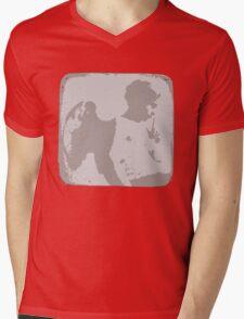 Messenger Mens V-Neck T-Shirt